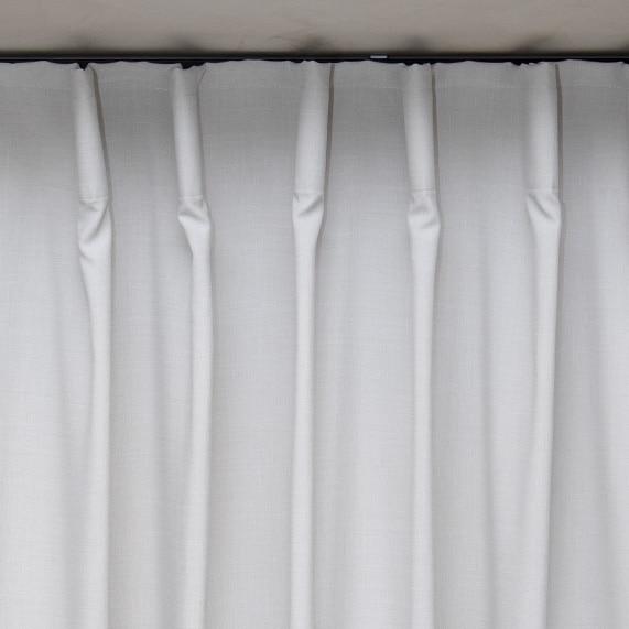 široká páska na závěsy a záclony
