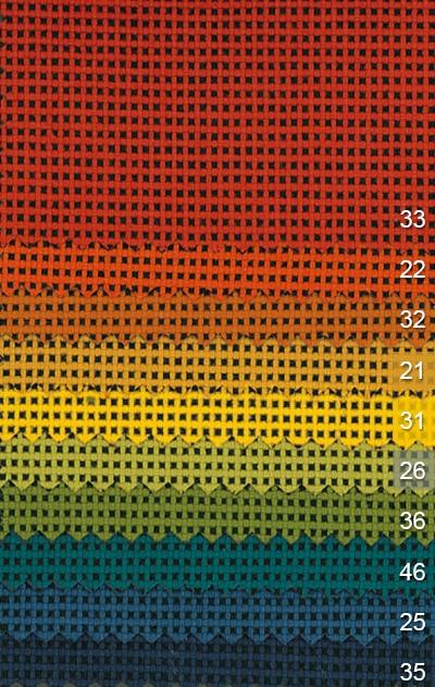 Akustický závěs DR007 barvy