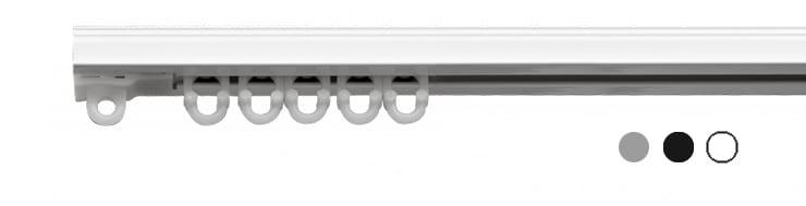 kolejnice DIX na závěsy a záclony